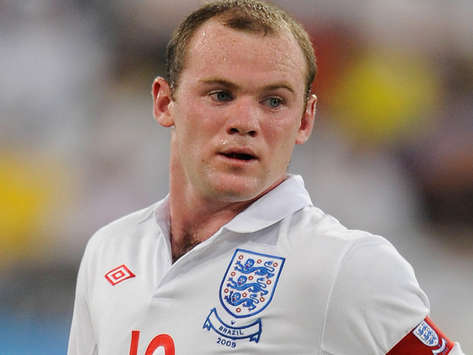 El delantero Wayne Rooney, internacional por Inglaterra (Getty Images)