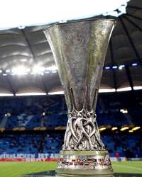 The Cup Is Seen Prior To The UEFA Europa League Semi Final First Leg Match Between Hamburger SV And Fulham(Getty Images)