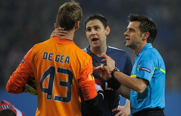 """دي خيا يؤجل قرار التحاقه بمانشستر يونايتدقام حارس المرمى الإسباني """"دافيد دي خيا"""" بتأج 97611.jpg"""