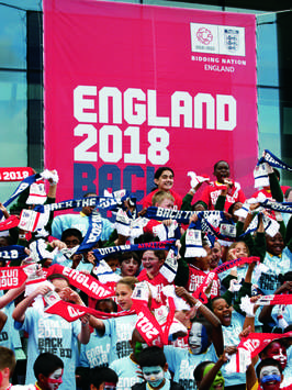 England World Cup 2018 Bid Team Label FIFA Corruption Documentary 'An Embarrassment'