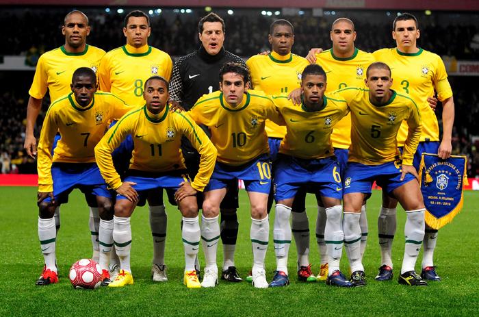 World Cup 2010 Brazil Squad