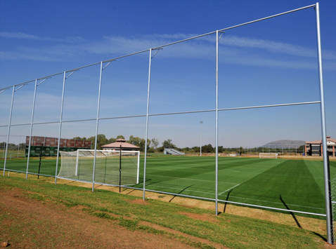 World Cup 2010: Royal Bafokeng Sports Campus - England training ground at Rustenburg (2010 FIFA O)