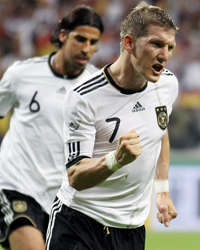 Germany vs Bosnia, Bastian Schweinsteiger,  Sami Khedira (Getty Images)
